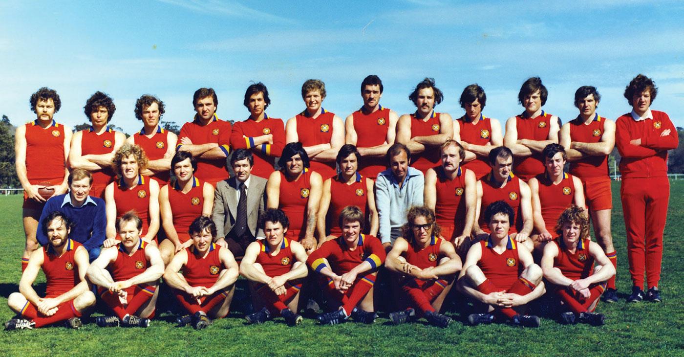 The 1978 A Grade Premiership team